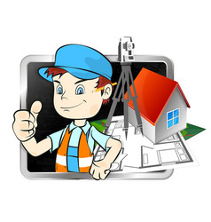 Surveyor with a tool vector