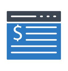 Web page vector