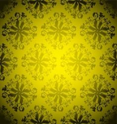 golden wallpaper repeat vector image