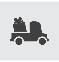 Delivery gift icon vector image vector image