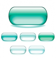 gel icons vector image vector image