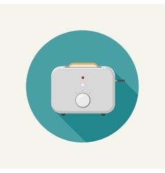 Toaster icon vector