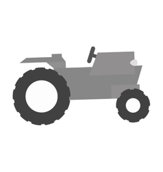 Farm truck emblem icon image vector