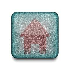 home house icon vector image