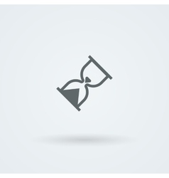 hourglass icon Time pictogram vector image