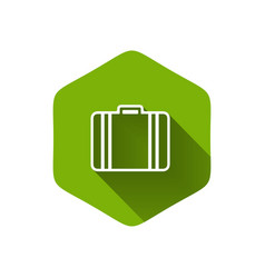Luggage symbol vector