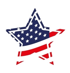 patriotic usa related emblem image vector image