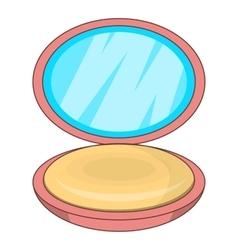 Puff-box icon cartoon style vector