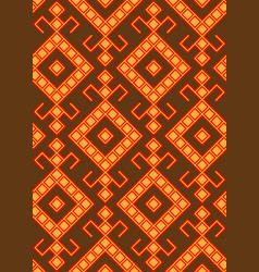 slavic pattern vector image