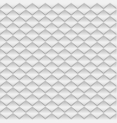 white paper rhombus seamless pattern vector image