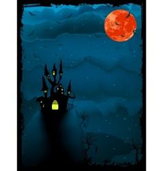 halloween spooky time vector image