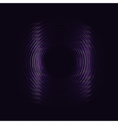 Purple Glowing Rings EPS10 Abstract background vector image