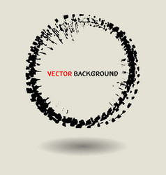abstract circle texture background template vector image