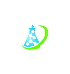 global laboratory research vector image