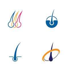Hair treatments icon vector
