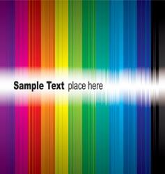 rainbow sample vector image