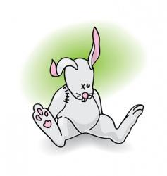 toy bunny vector image