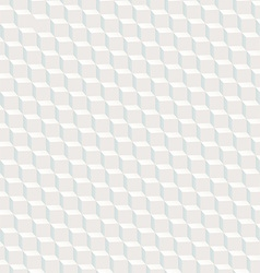White cubed texture seamless pattern with blue vector