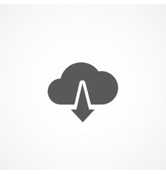Download icon vector image vector image