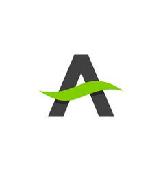 care letter a logo icon design vector image