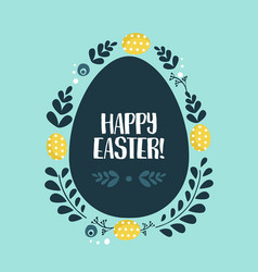 Easter background vector