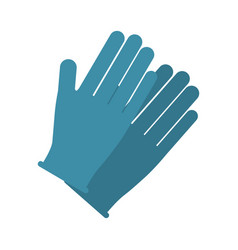 gloves icon image vector image