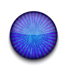 Grunge blue app icon vector image vector image