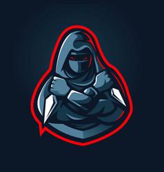 Ninja esport logo vector