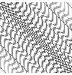 zigzag lines diagonally vector image