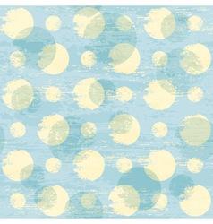 grunge dots pattern vector image