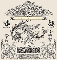 Victorian vector