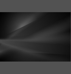 Abstract black minimal smooth gradient background vector