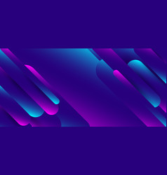 abstract blue and pink gradient shapes rounded vector image