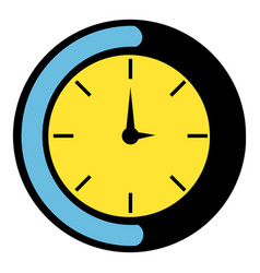 Clock icon icon cartoon vector