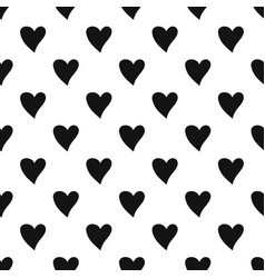Cruel heart pattern seamless vector