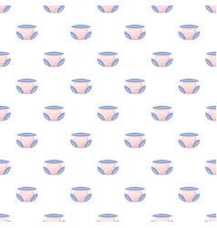 Diaper pattern vector