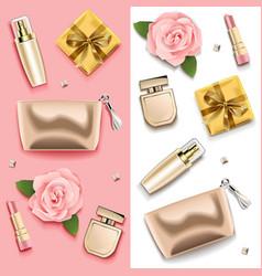 female accessories double set 3 vector image