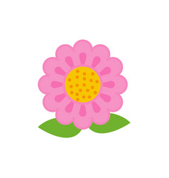 flower icon design template isolated vector image