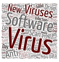 How To Keep Your Computer Virus Free text vector
