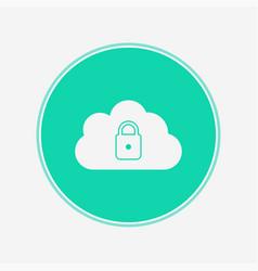 lock icon sign symbol vector image