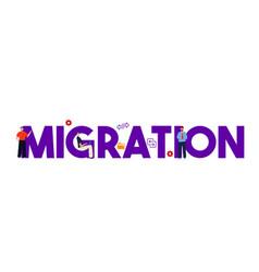 Migration concept transfer sync migration data vector