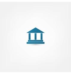 Pillar icon vector
