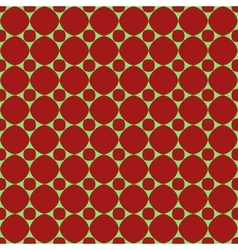 Polka dot geometric seamless pattern 310 vector image