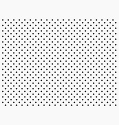 polka dot point circle background vector image