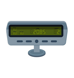 Taximeter device measurement appliance for vector