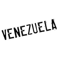 Venezuela stamp rubber grunge vector image