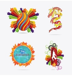 concepts creative sign and emblems vector image vector image