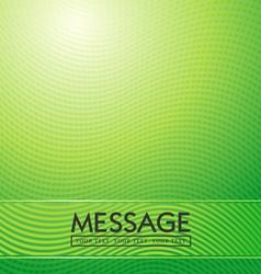 green waves abstract vector image