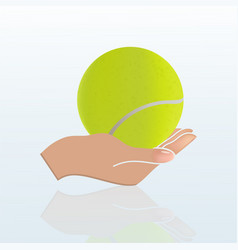 3d ball vector image