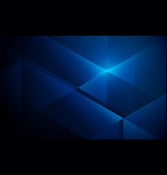 abstract blue color overlap geometric background vector image